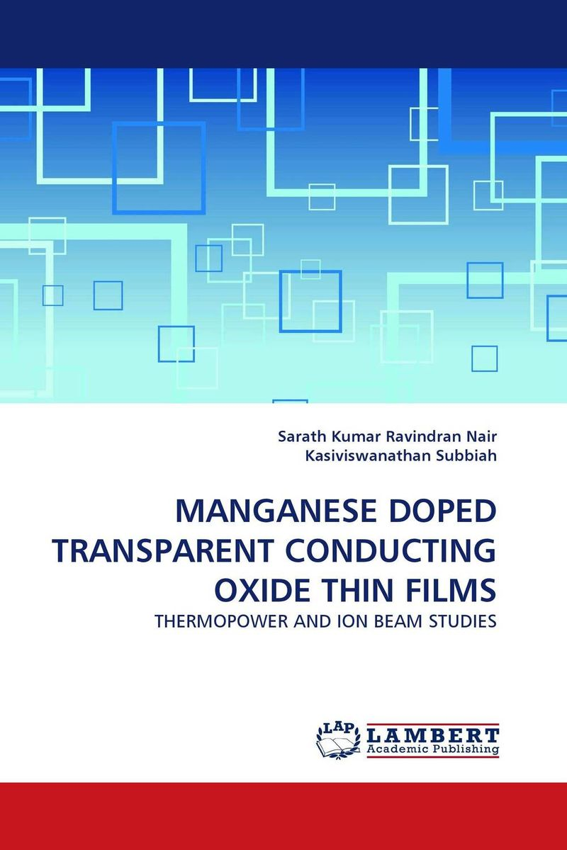 MANGANESE DOPED TRANSPARENT CONDUCTING OXIDE THIN FILMS купить