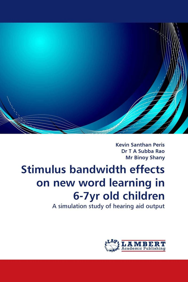 Stimulus bandwidth effects on new word learning in 6-7yr old children personal sound amplifier high quality competitive price hearing aid deaf aid behind ear hearing aids s 188 free dropshipping