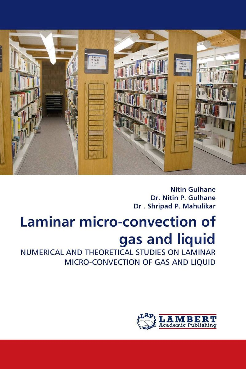 Laminar micro-convection of gas and liquid particle mixing and settling in reservoirs under natural convection