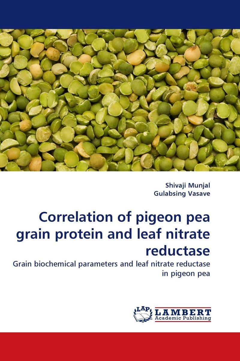 Correlation of pigeon pea grain protein and leaf nitrate reductase mylsamy prabhakaran and sanniyasi elumalai application of genetic engineering in pigeon pea crop improvement