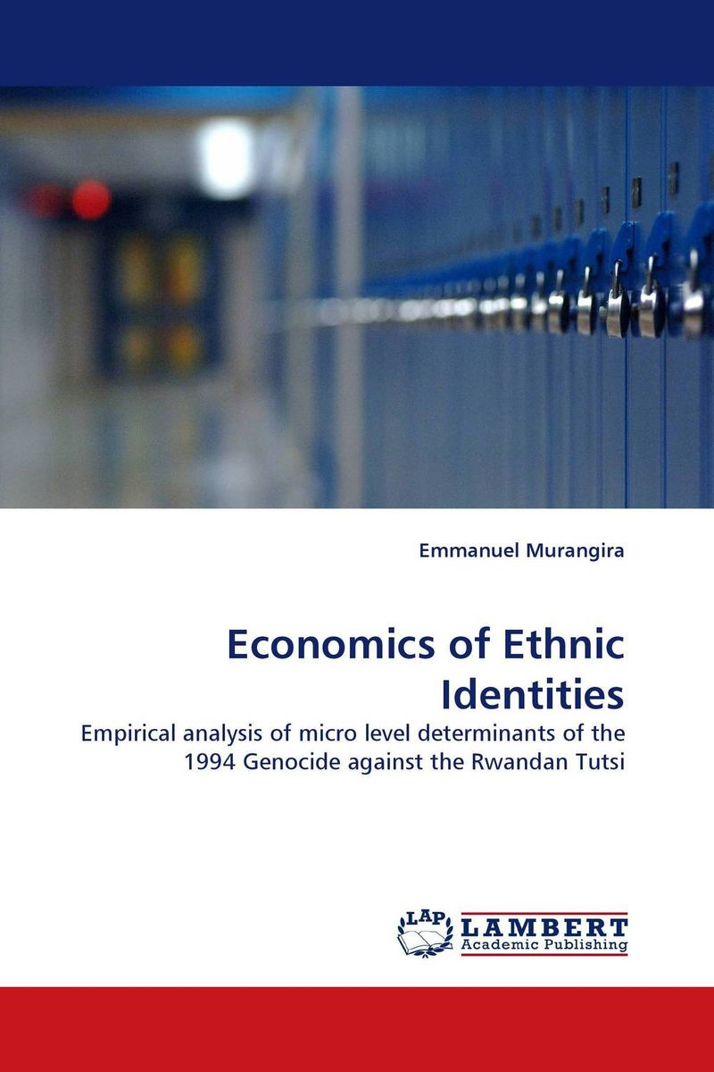Economics of Ethnic Identities the identity of the i of the confessions of jeremiah