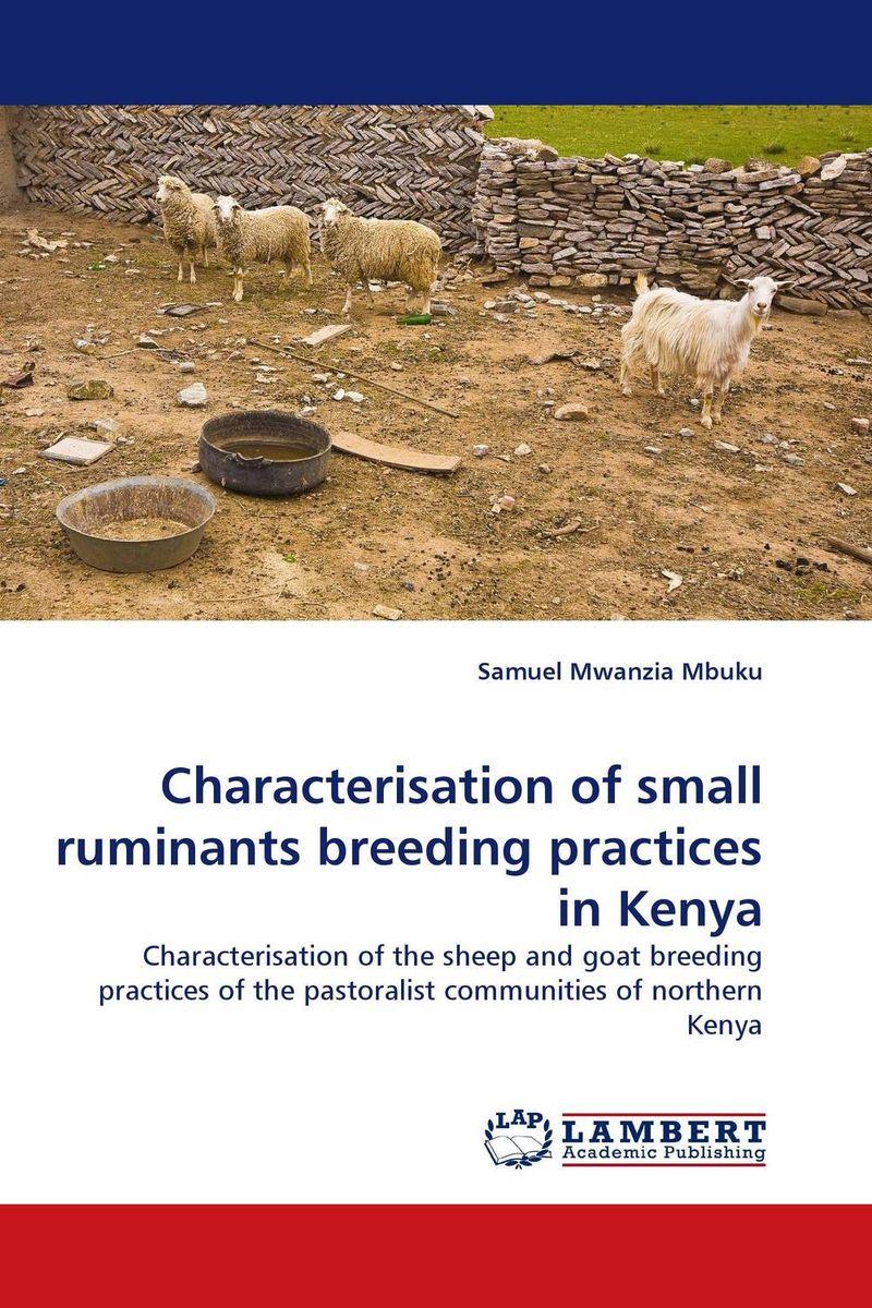Characterisation of small ruminants breeding practices in Kenya beekeeping breeding queen breeding tools queen marking bottle