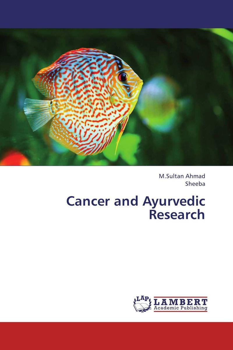 Cancer and Ayurvedic Research dali spektor 6 walnut