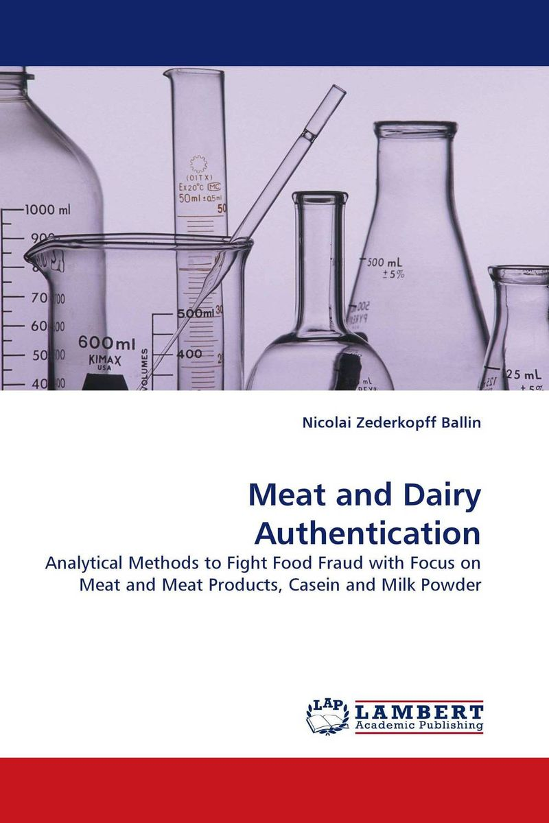 Meat and Dairy Authentication belousov a security features of banknotes and other documents methods of authentication manual денежные билеты бланки ценных бумаг и документов