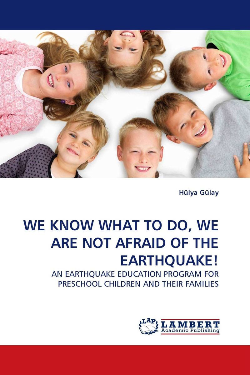 WE KNOW WHAT TO DO, WE ARE NOT AFRAID OF THE EARTHQUAKE! education preschool