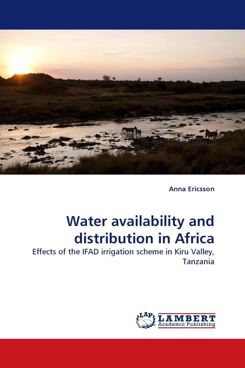 Water availability and distribution in Africa bride of the water god v 3