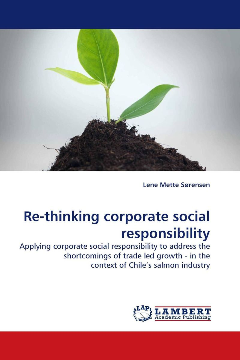 Re-thinking corporate social responsibility the effect of securities regulation and corporate tax