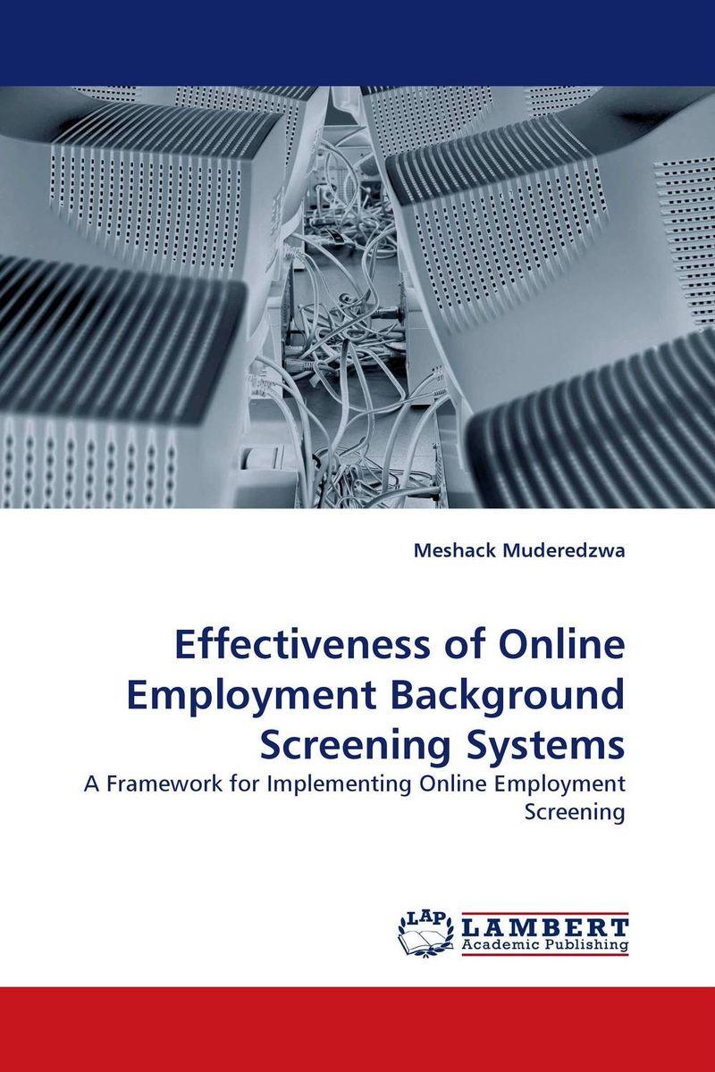 Effectiveness of Online Employment Background Screening Systems antenatal screening for postpartum depression