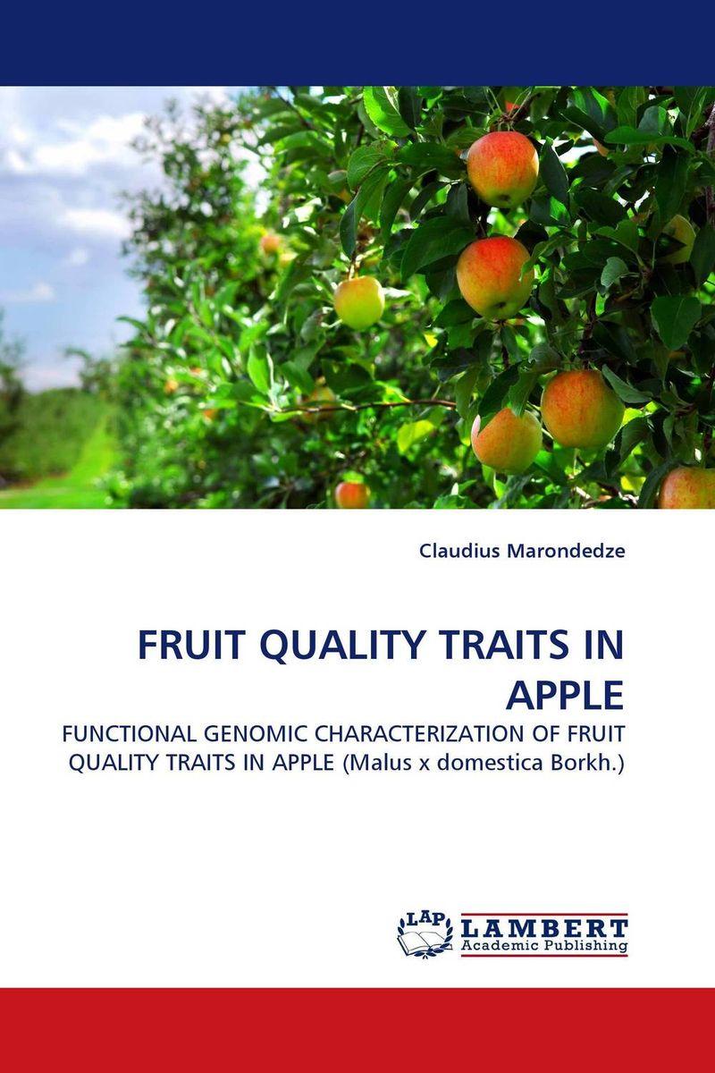 все цены на FRUIT QUALITY TRAITS IN APPLE онлайн