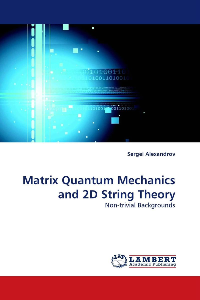 Matrix Quantum Mechanics and 2D String Theory the ladder operator method in quantum mechanics