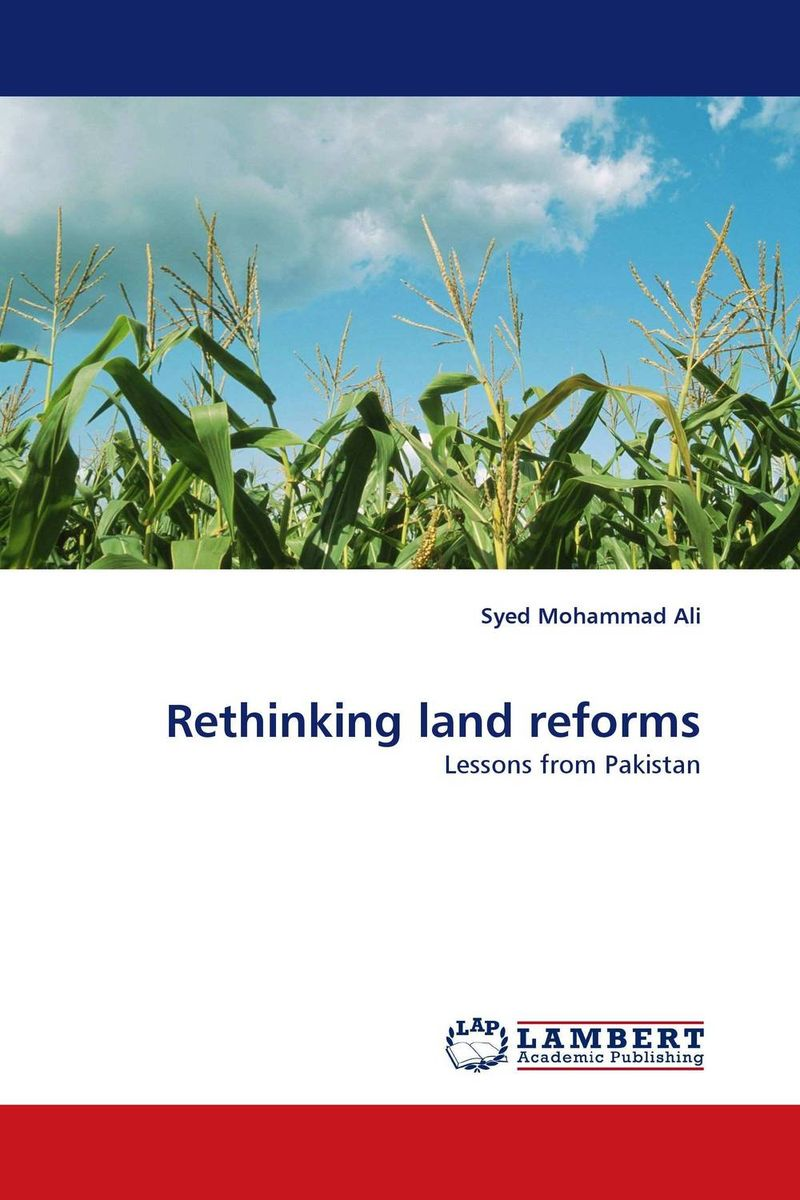 Rethinking land reforms affair of state an