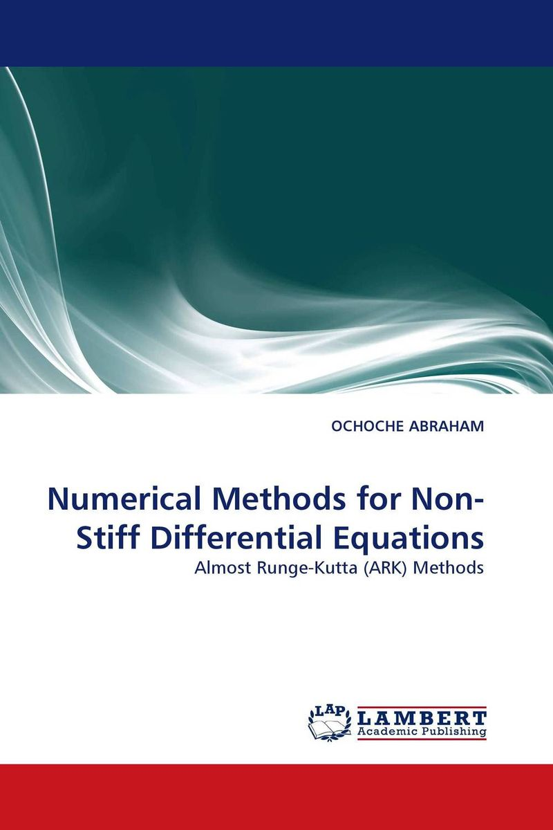 Numerical Methods for Non-Stiff Differential Equations ondrej dosly half linear differential equations