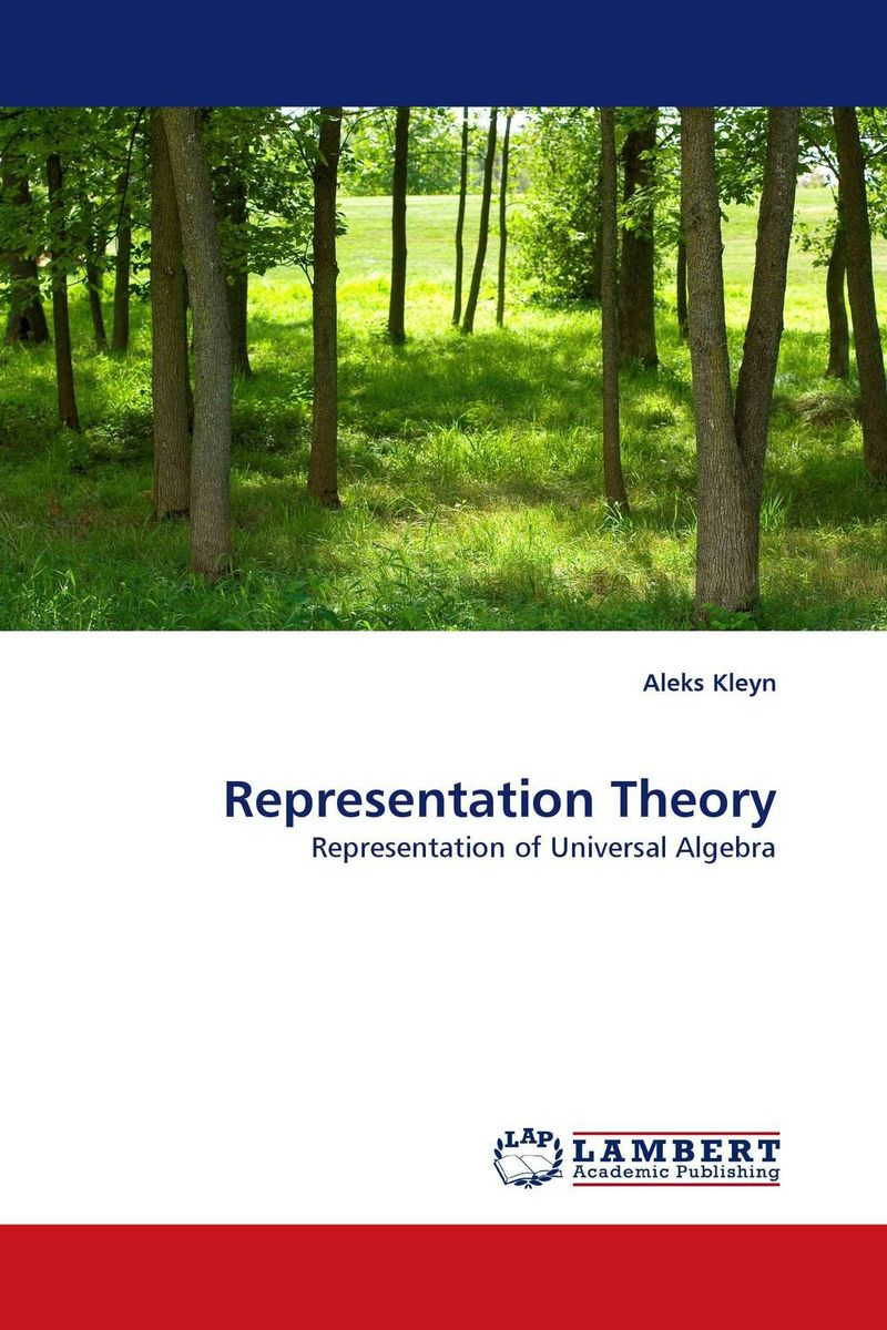 Representation Theory kappeler pornography of representation