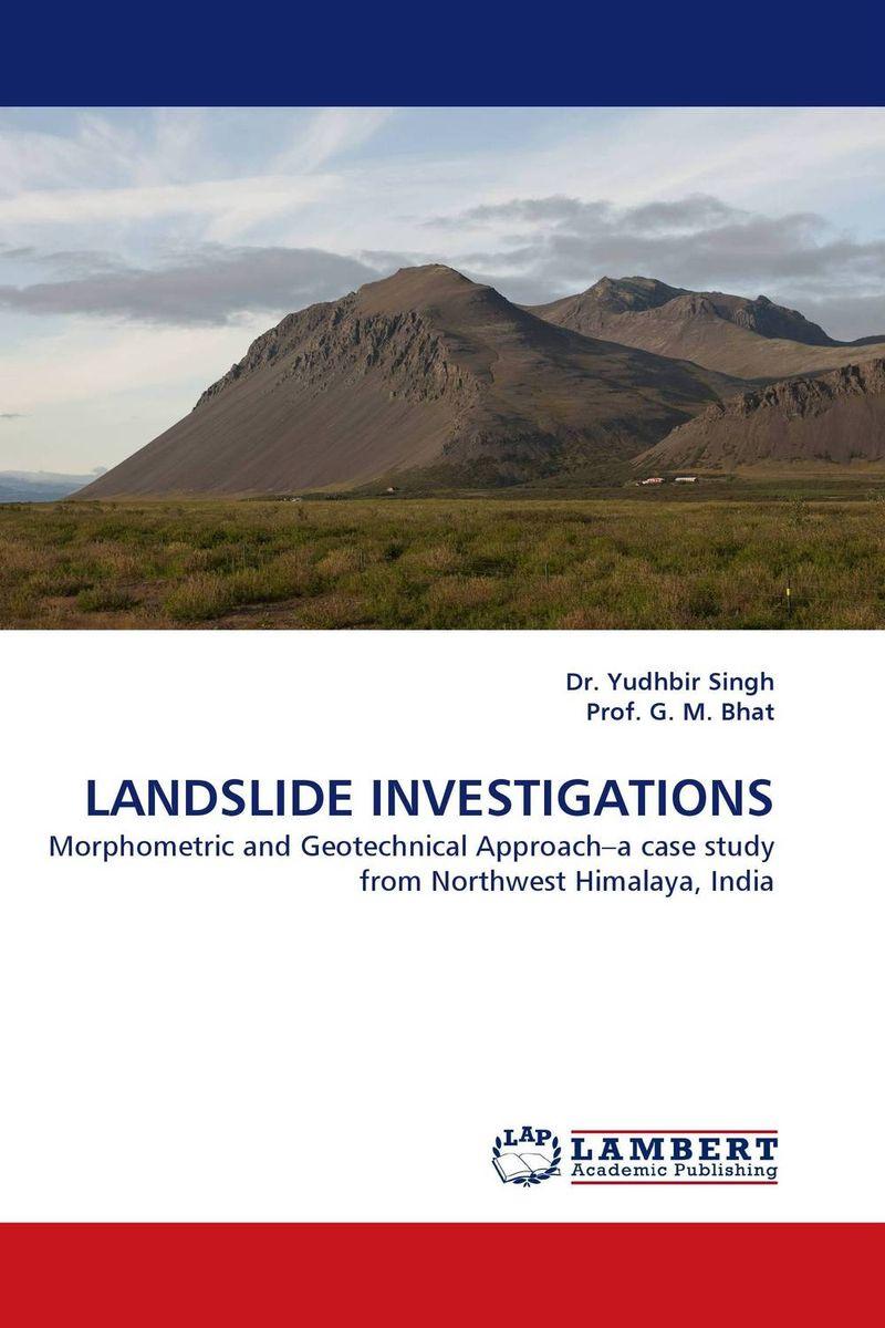LANDSLIDE INVESTIGATIONS earth observation for land and emergency monitoring