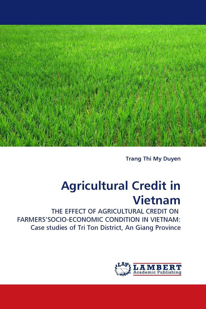 Agricultural Credit in Vietnam the credibility of credit ratings