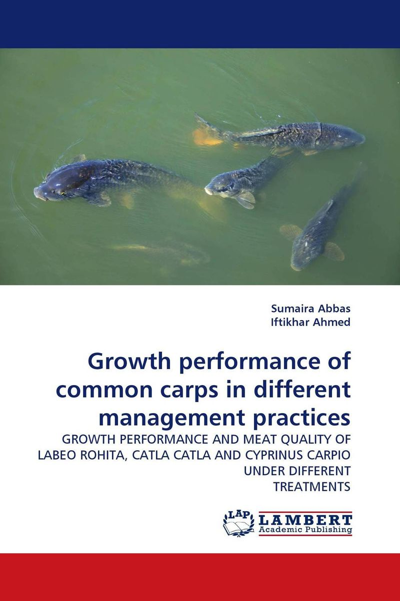Growth performance of common carps in different management practices