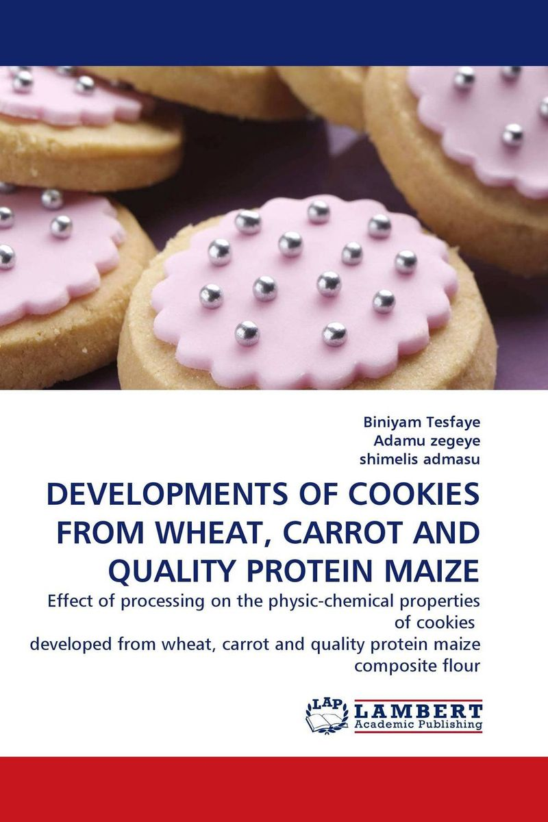 DEVELOPMENTS OF COOKIES FROM WHEAT, CARROT AND QUALITY PROTEIN MAIZE 100g bag l tryptophan food grade 99% usa imported l tryptophan