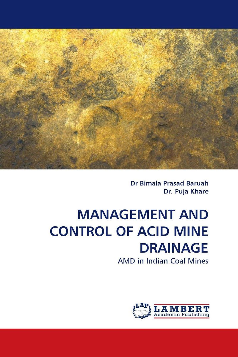 MANAGEMENT AND CONTROL OF ACID MINE DRAINAGE кардиган golden state of mine
