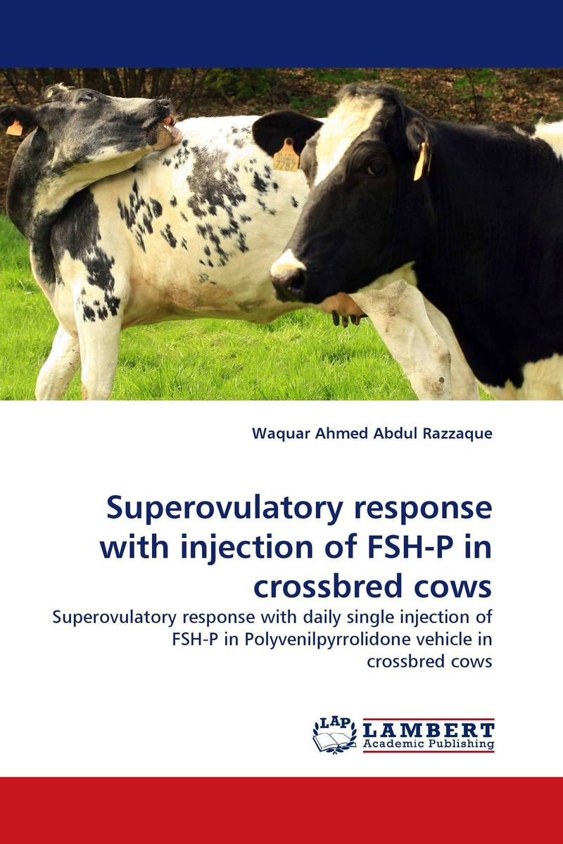 Superovulatory response with injection of FSH-P in crossbred cows metabolic disorders of transition dairy cows