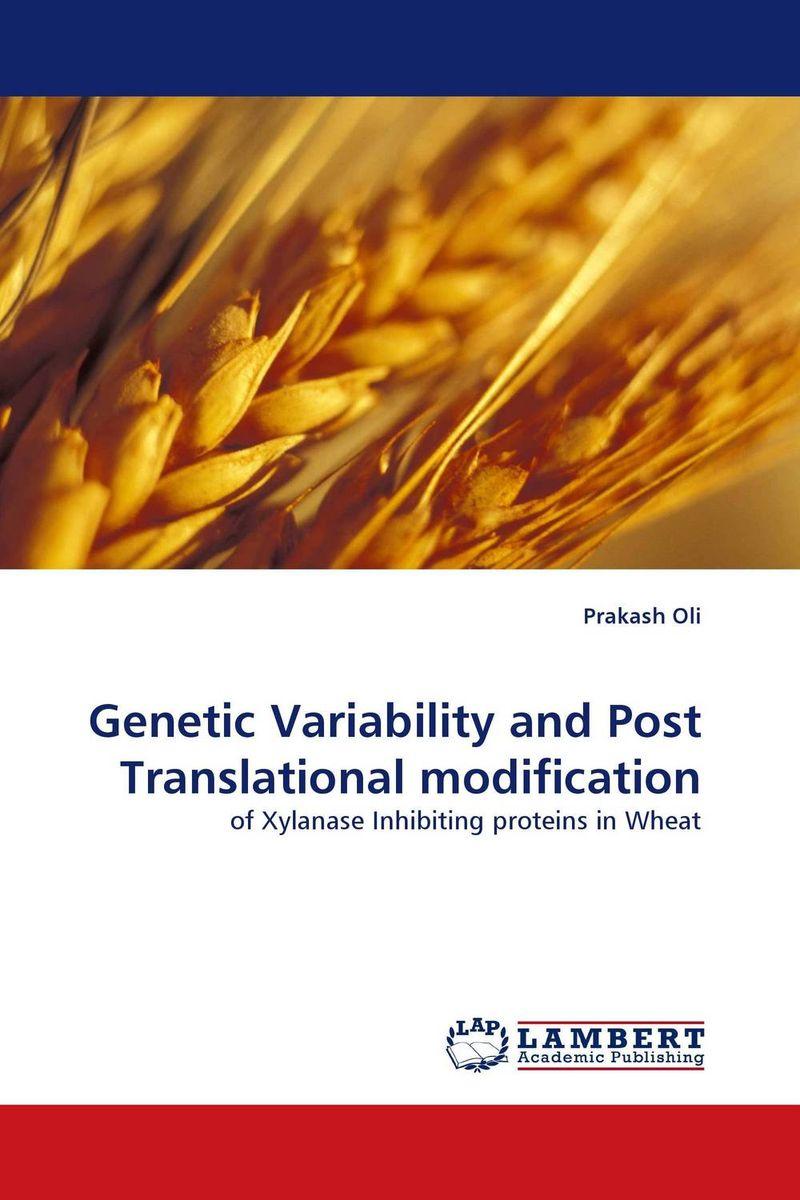 Genetic Variability and Post Translational modification kamlesh kumar surender singh and diwan singh climatic variability and wheat productivity
