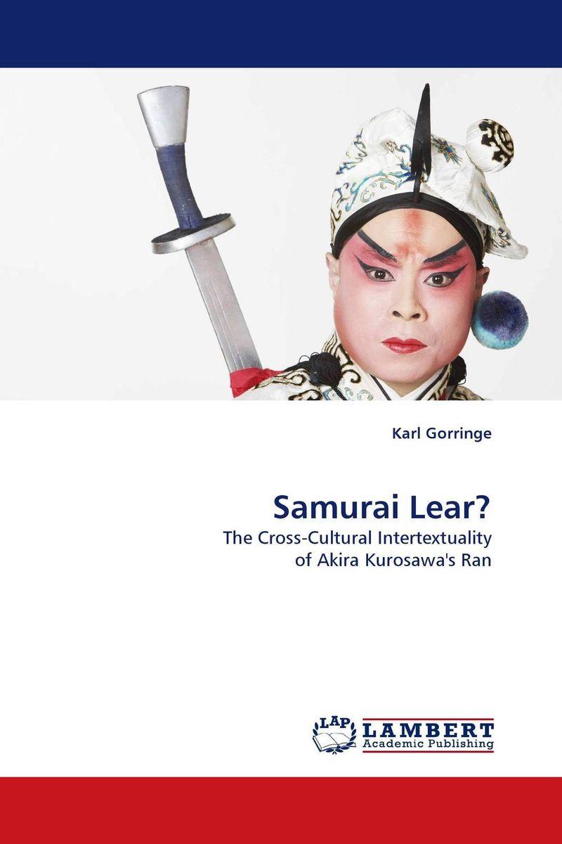 Samurai Lear? king lear