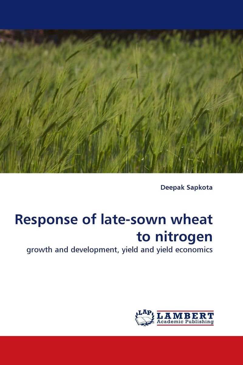 Response of late-sown wheat to nitrogen