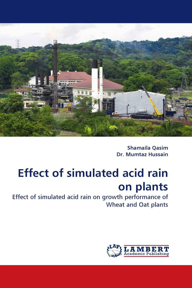 Effect of simulated acid rain on plants turbulence effect on wind rain station