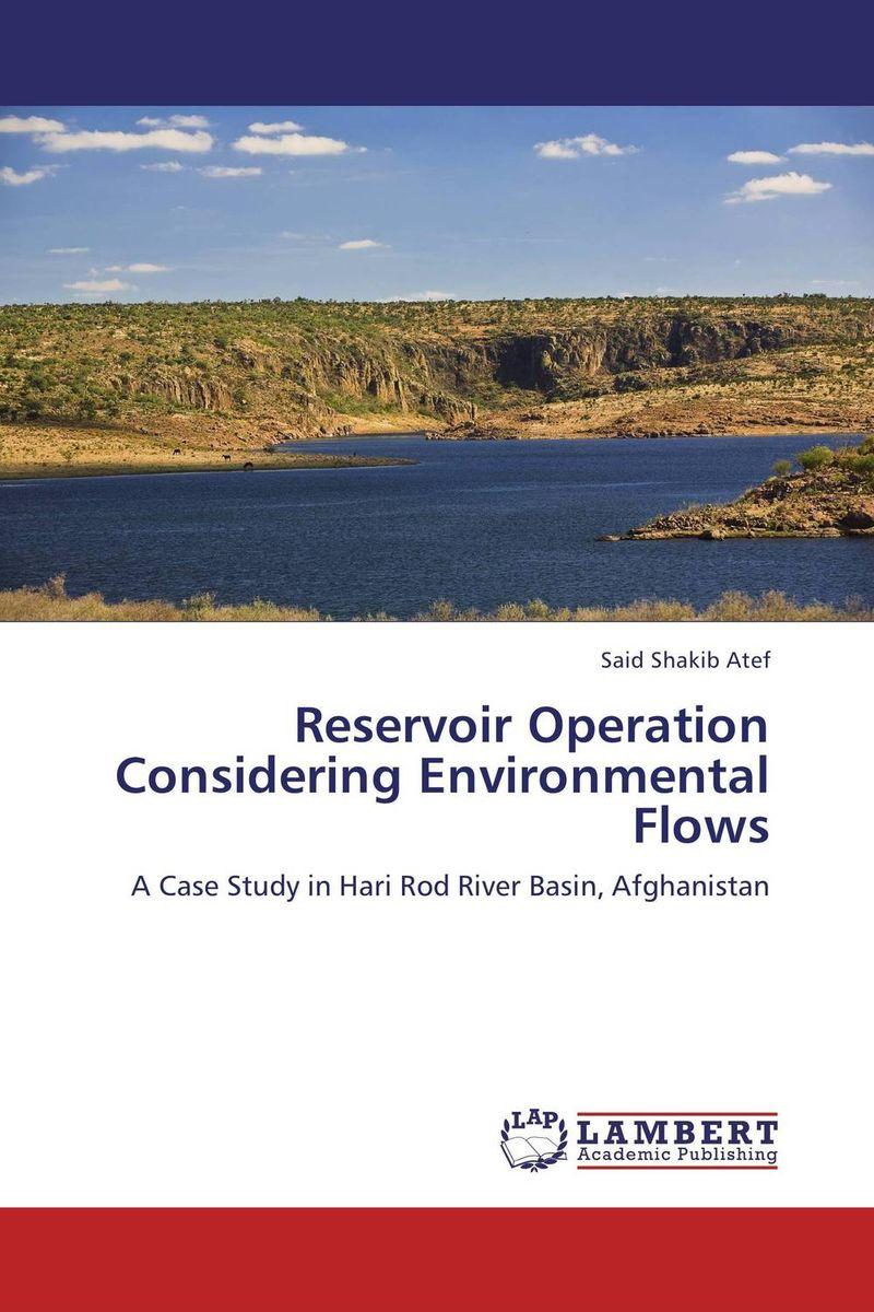 Reservoir Operation Considering Environmental Flows considering environmental war crime