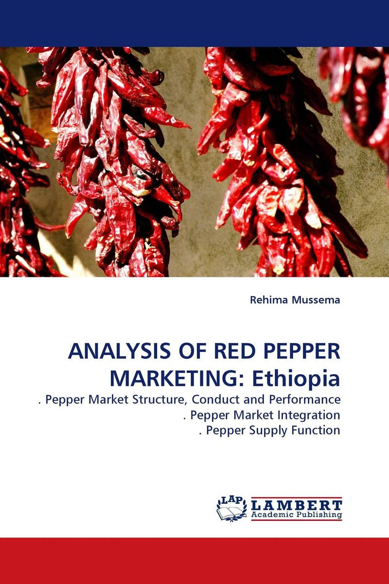 ANALYSIS OF RED PEPPER MARKETING: Ethiopia patrick p the curious charms of arthur pepper