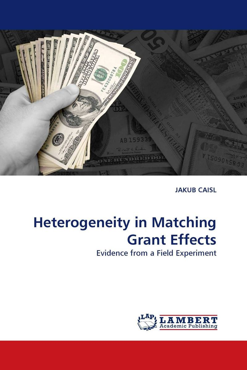 Heterogeneity in Matching Grant Effects grant tavinor the art of videogames
