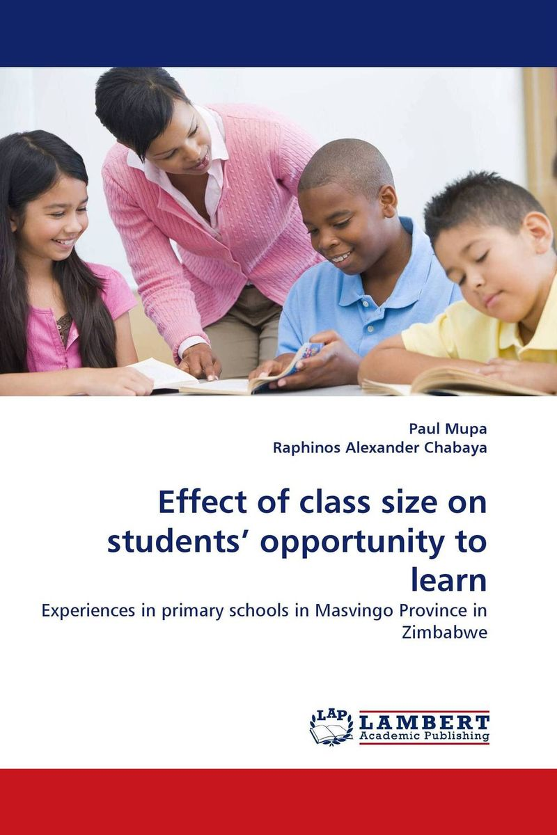 Effect of class size on students'' opportunity to learn the effect of social class on visualisation in geometry