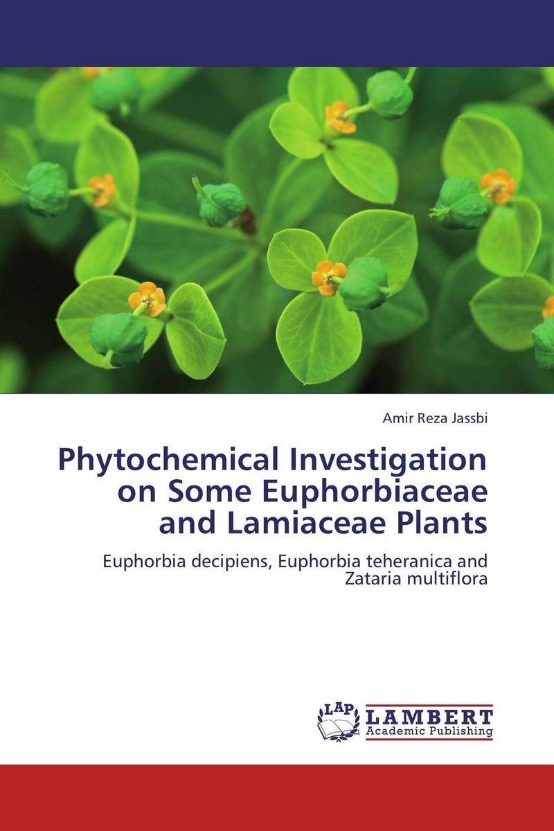 Phytochemical Investigation on Some Euphorbiaceae and Lamiaceae Plants swapna nair and m r anantharaman investigation on the nanomagnetic materials and ferrofluids