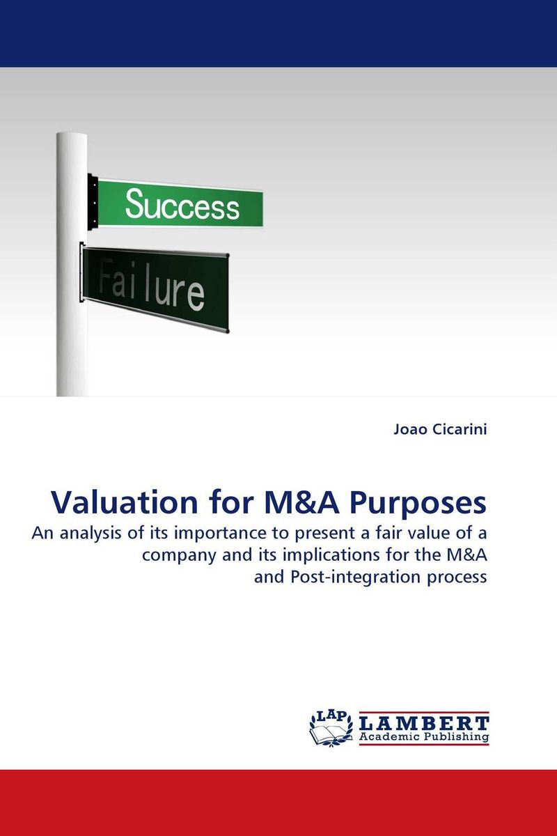 Valuation for M&A Purposes frank evans c valuation for m