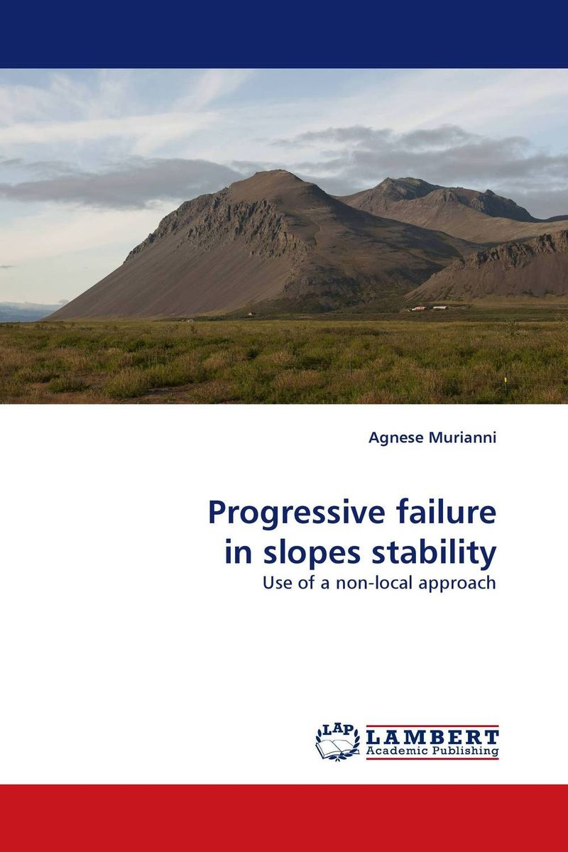 Progressive failure in slopes stability stem bromelain in silico analysis for stability and modification
