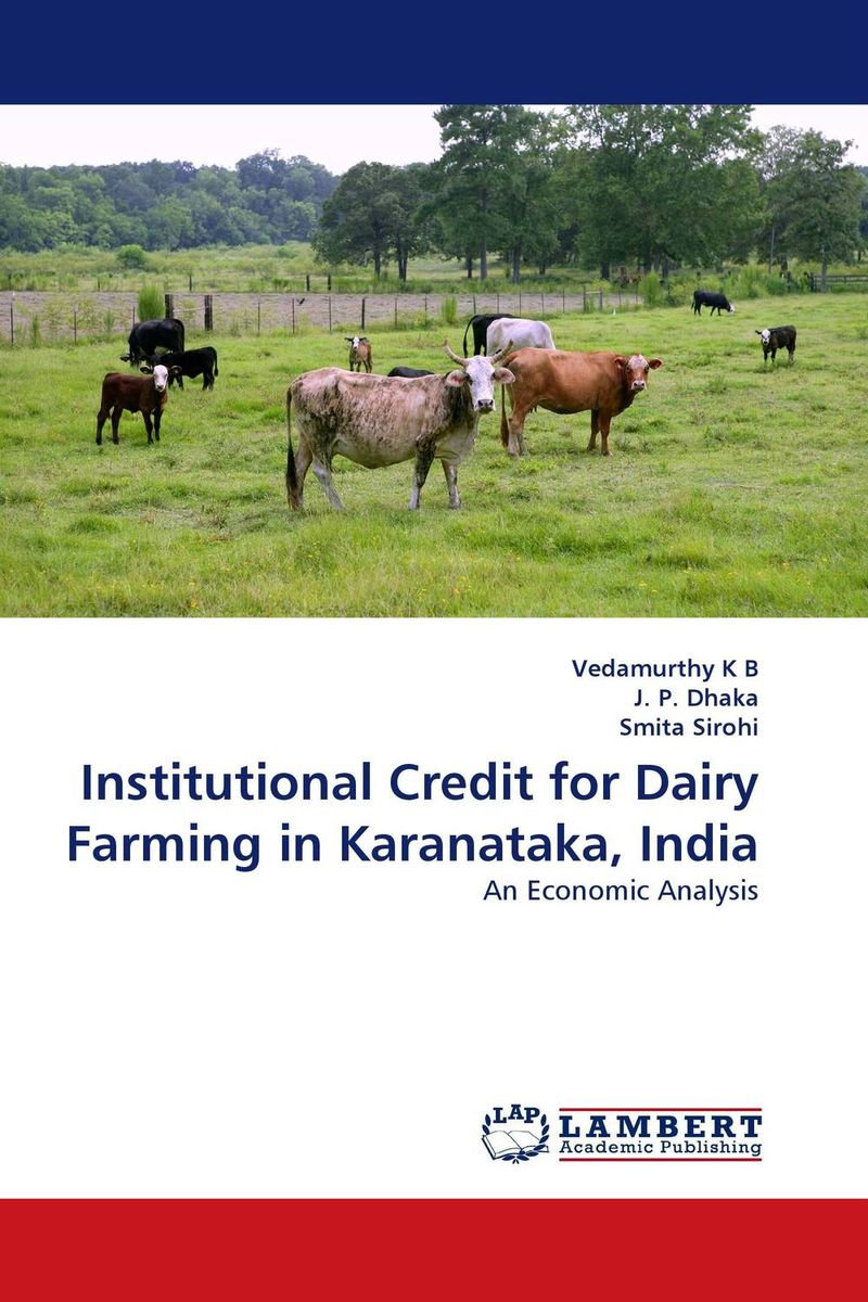 Institutional Credit for Dairy Farming in Karanataka, India sukanta biswas and arunasis goswami women entrepreneurship development through dairy farming in w b india