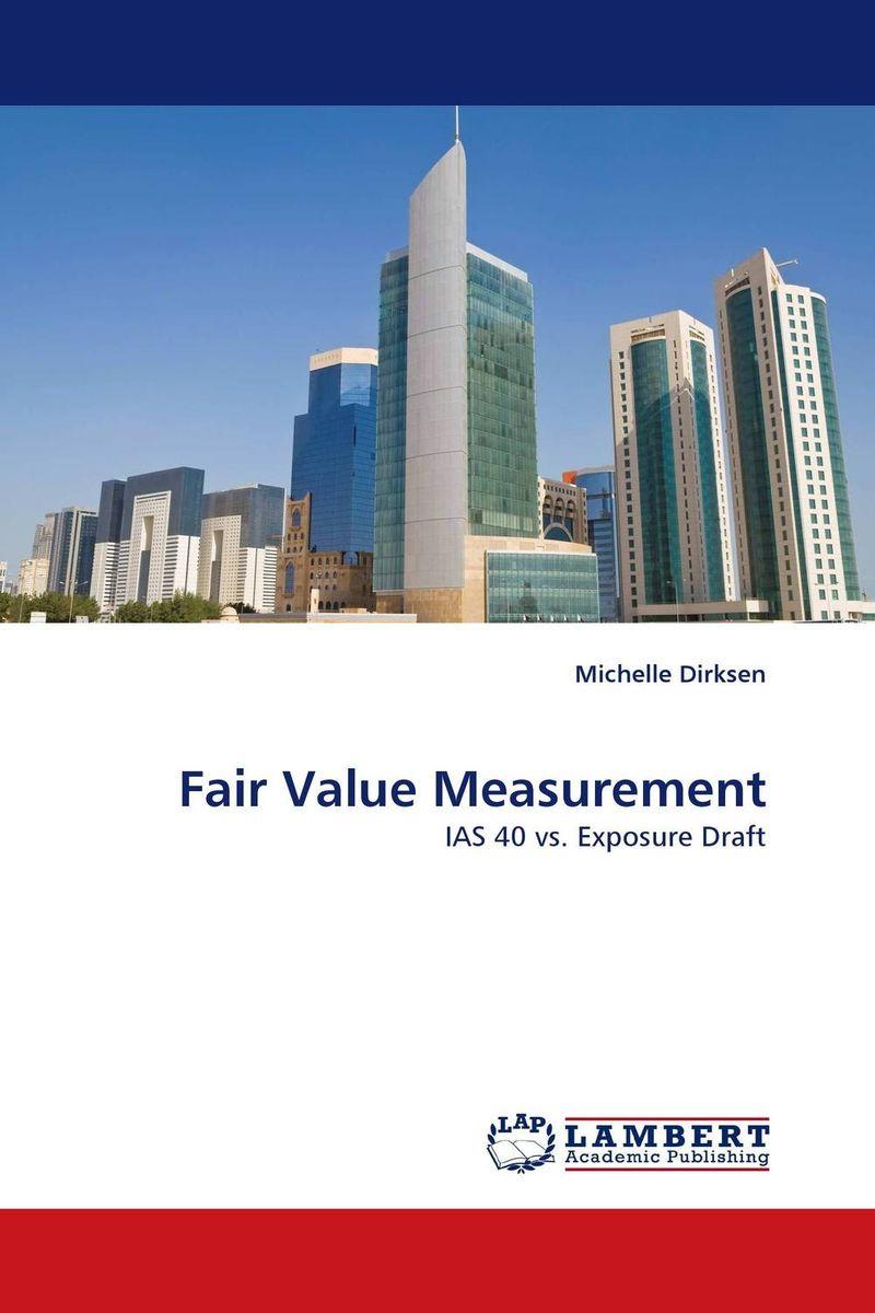 Fair Value Measurement michelle dirksen fair value measurement