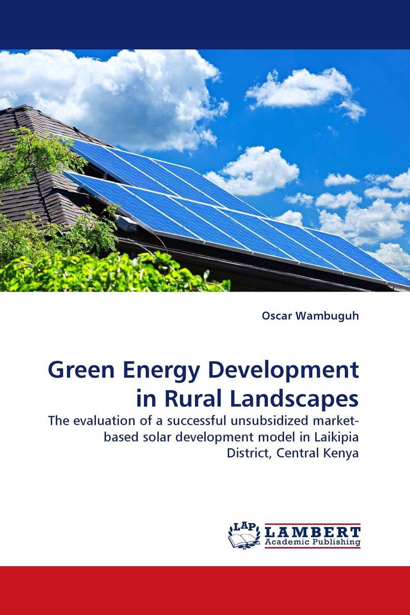 Green Energy Development in Rural Landscapes investment costs of renewable electricity technologies