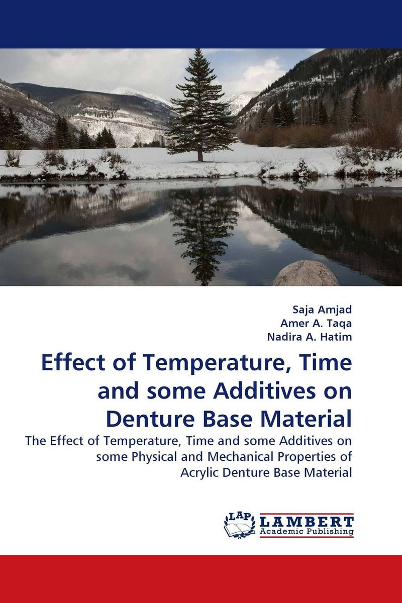 Effect of Temperature, Time and some Additives on Denture Base Material jaspal singh and ravinder pal singh effects of aging temperature and time on synthesis of hydroxyapatite