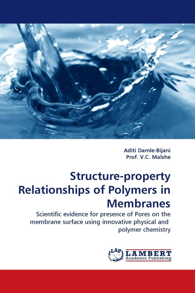 Structure-property Relationships of Polymers in Membranes недорго, оригинальная цена