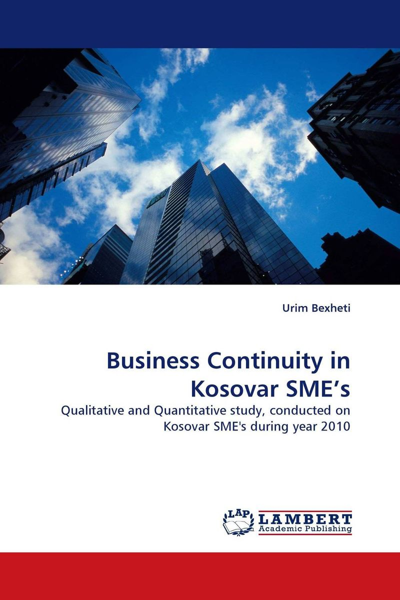 Фото Business Continuity in Kosovar SME''s business and ethics in a country with political socio economic crisis