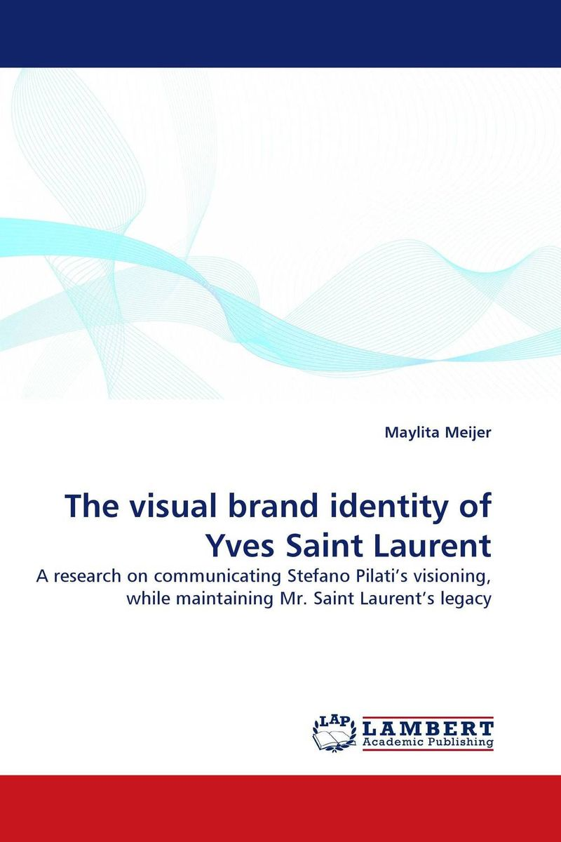 The visual brand identity of Yves Saint Laurent driven to distraction