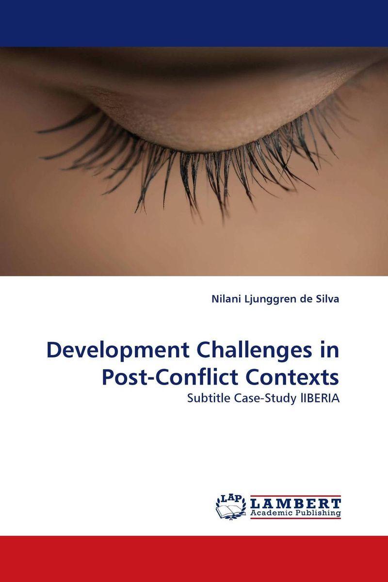 Development Challenges in Post-Conflict Contexts