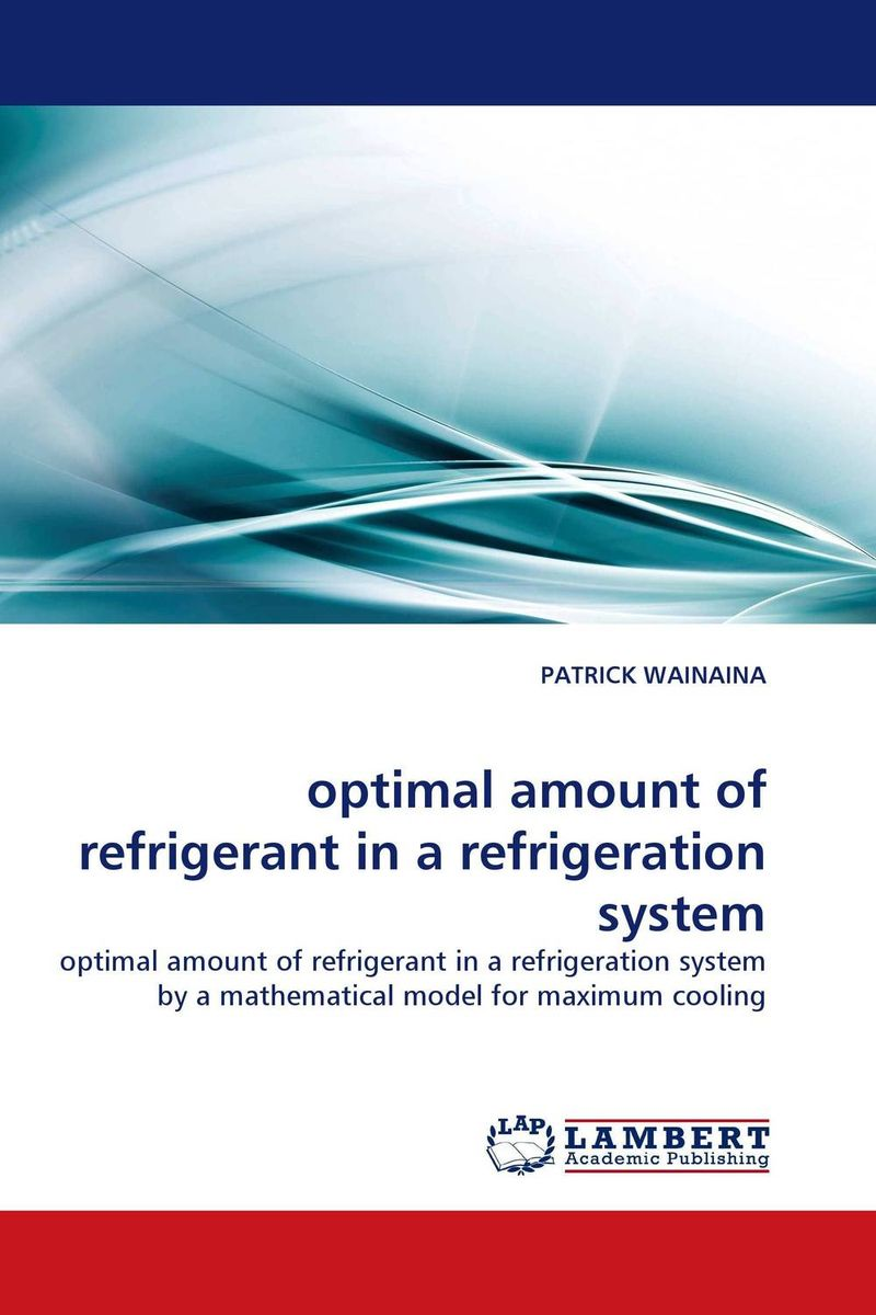 optimal amount of refrigerant in a refrigeration system optimal and efficient motion planning of redundant robot manipulators