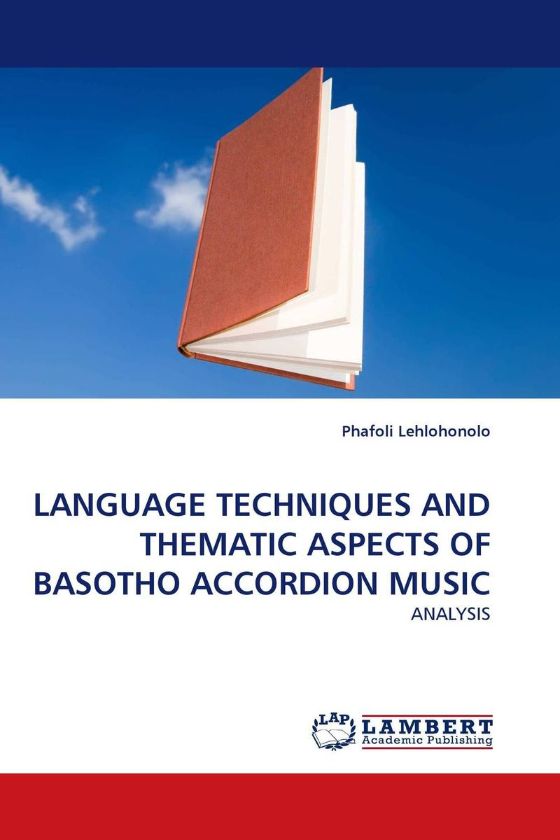LANGUAGE TECHNIQUES AND THEMATIC ASPECTS OF BASOTHO ACCORDION MUSIC the fast and the furious music from and inspired by the motion picture