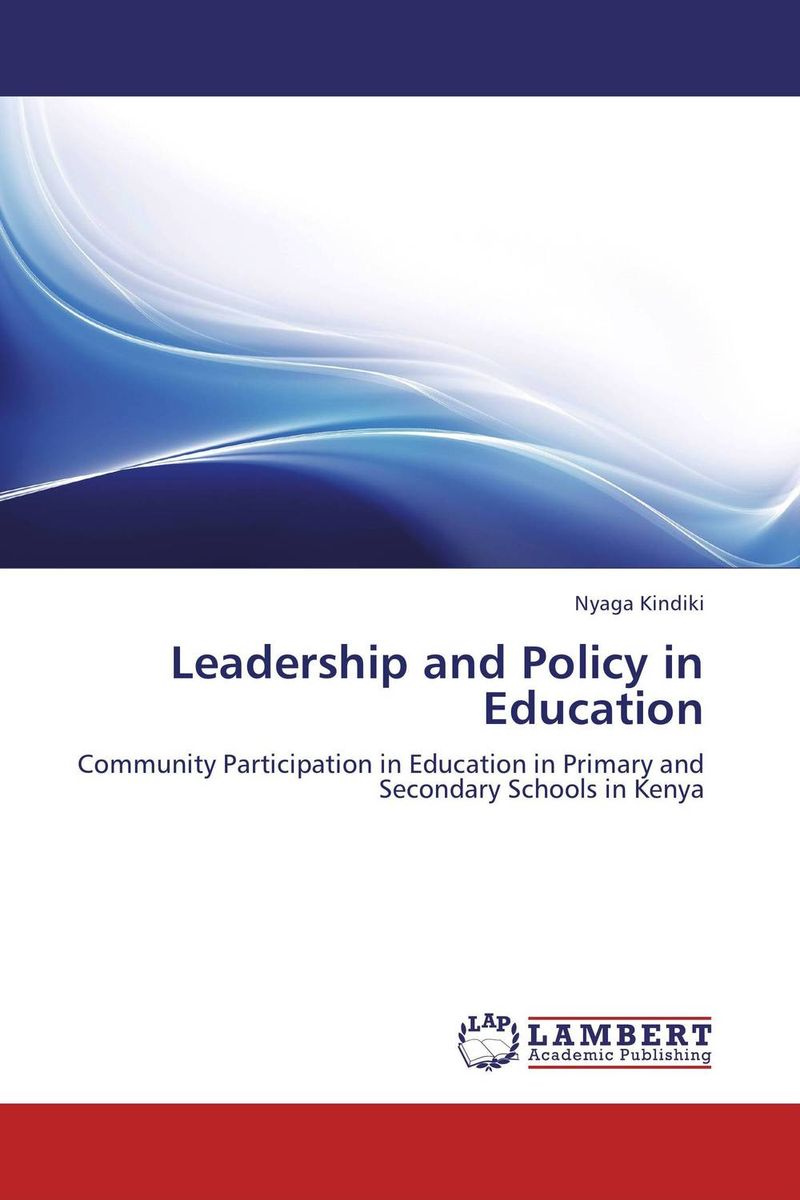 LEADERSHIP AND POLICY IN EDUCATION language in education policy and practice