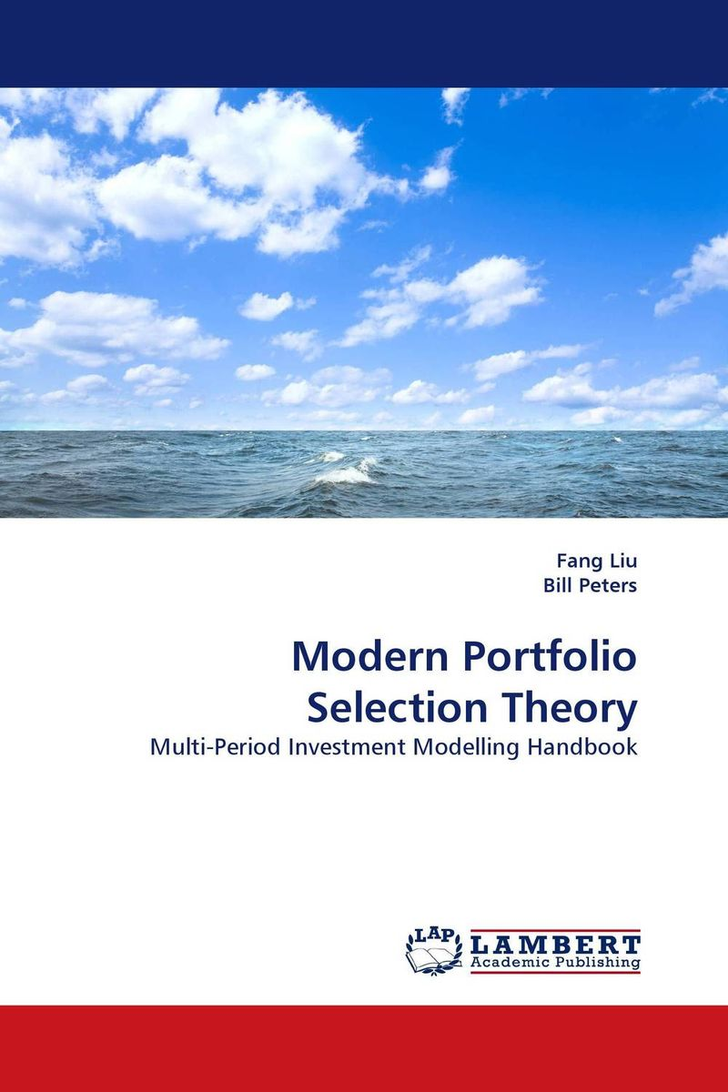 Modern Portfolio Selection Theory seunghwan shin and venky shankar selection bias and heterogeneity in severity models
