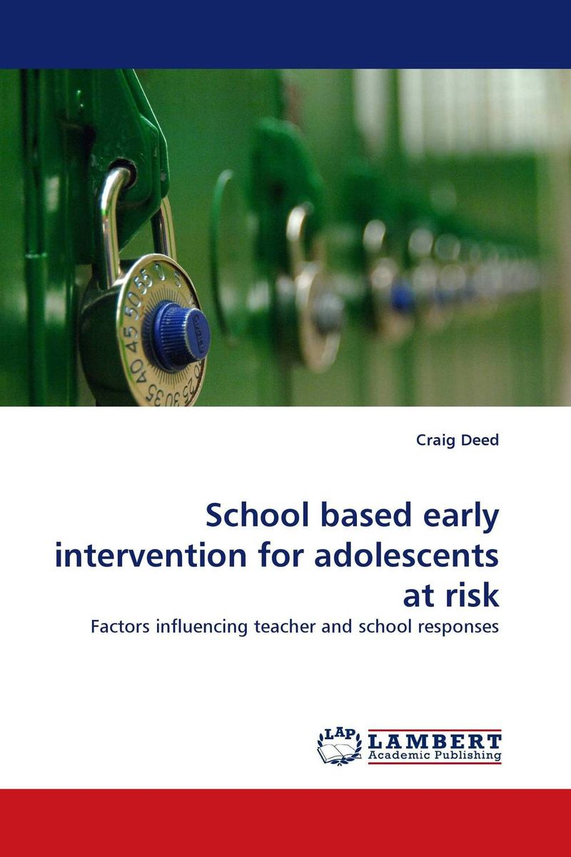 School based early intervention for adolescents at risk bosch 2608584666