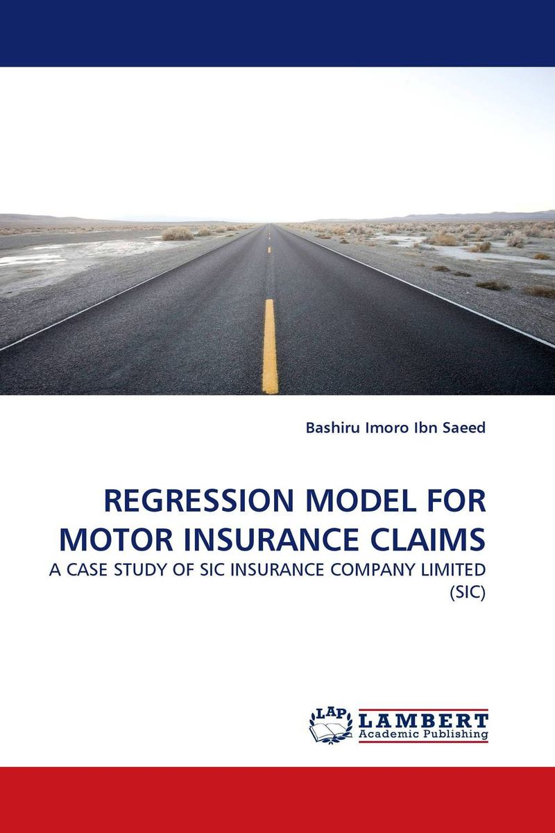 REGRESSION MODEL FOR MOTOR INSURANCE CLAIMS чаша для бассейна splash in shade 244х51см bestway 56193ass10