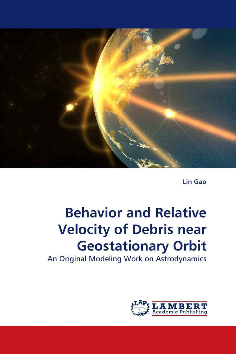 Behavior and Relative Velocity of Debris near Geostationary Orbit tell it to the moon