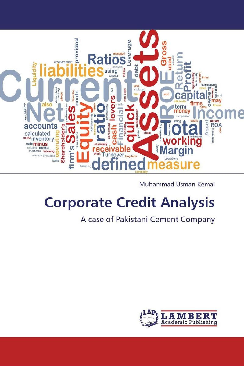 Corporate Credit Analysis ittelson thomas financial statements